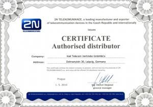 KEIL Telecom - Zertifizierter 2N Distributor für Deutschland