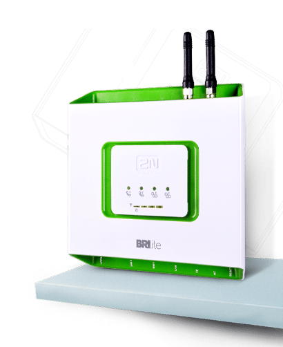 2N BRI Lite GSM Gateway