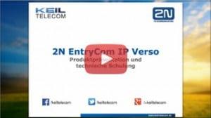 Webinar 2N EntryCom IP Verso Produktschulung