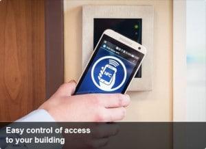 NFC Zugangskontrolle
