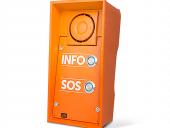 2N EntryCom IP Safety mit Notruf- und Infotaster