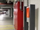 Standsäule INOX als Notrufsteele mit 2N EntryCom Safety