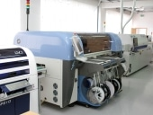 Fertigungsstrasse mit Bestückungs- und Lötautomat