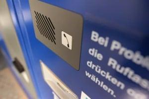 Kassenautomat mit Einbausprechelektronik