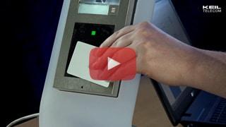 2N EntryCom IP Verso: RFID Karten anlernen