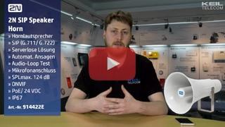 2N SIP Speaker Horn