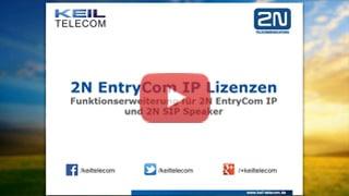 Webinar 2N Lizenzen
