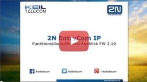 Webinar 2N EntryCom IP Funktionsübersicht
